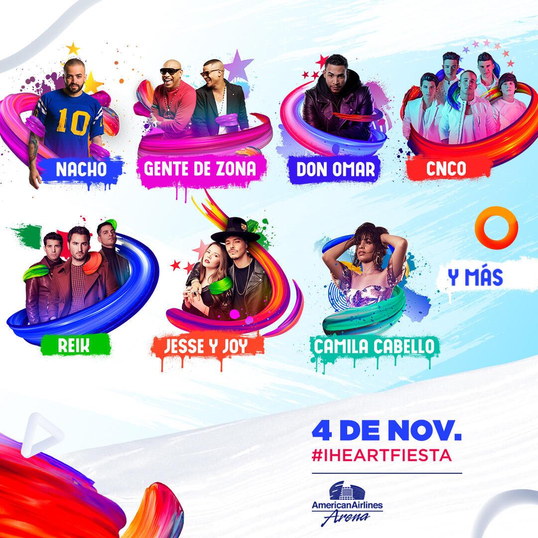 iHeartRadio Fiesta Latina 2017 Lineup