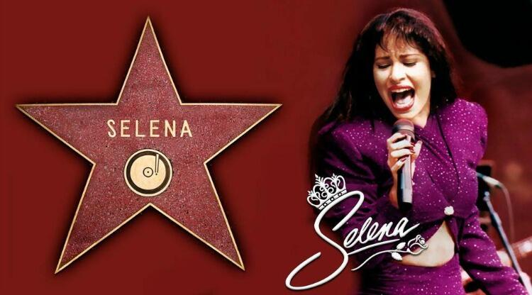Selena Quintanilla To Receive Star On The Hollywood Walk Of Fame