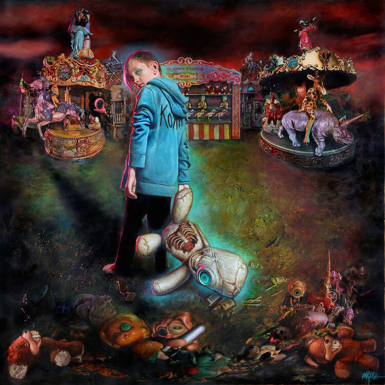 Korn The Serenity of Suffering Album Cover