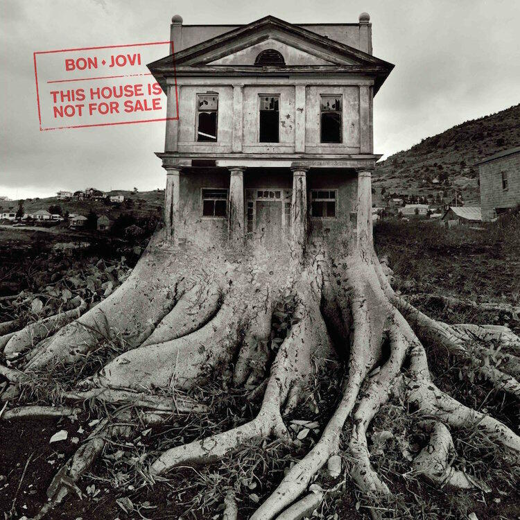 Bon Jovi This House Is Not For Sale Cover Art