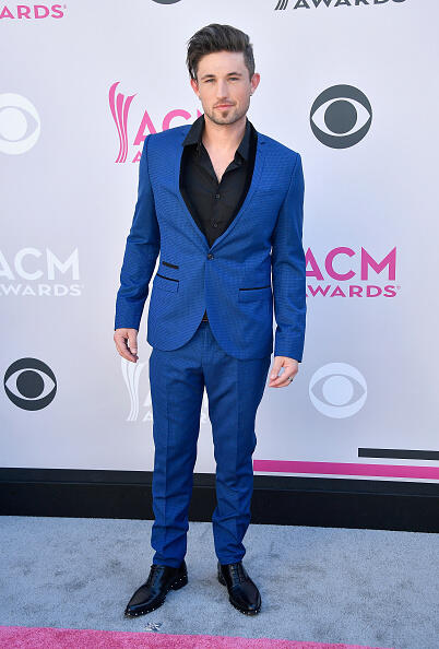 LAS VEGAS, NV - APRIL 02:  Singer Michael Ray attends the 52nd Academy Of Country Music Awards at Toshiba Plaza on April 2, 2017 in Las Vegas, Nevada.  (Photo by Frazer Harrison/Getty Images)