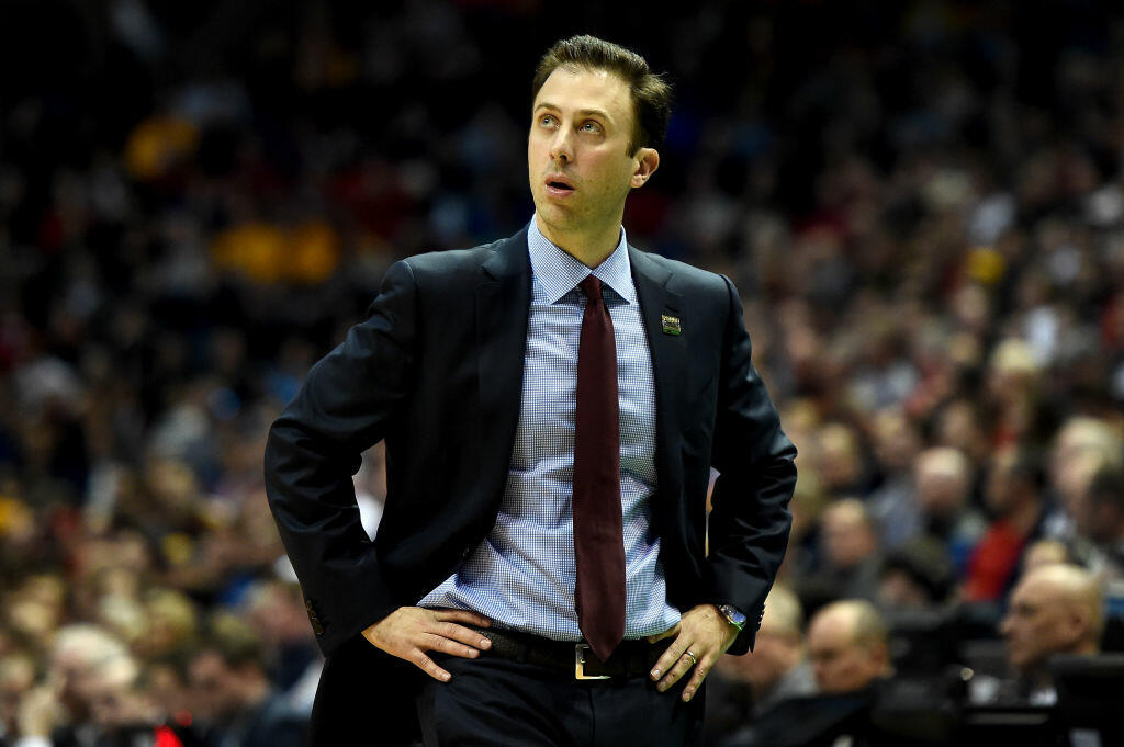 MILWAUKEE, WI - MARCH 16:  Head coach Richard Pitino of the Minnesota Golden Gophers reacts in the first half against the Middle Tennessee Blue Raiders during the first round of the 2017 NCAA Men's Basketball Tournament at BMO Harris Bradley Center on March 16, 2017 in Milwaukee, Wisconsin. (Photo by Stacy Revere/Getty Images)