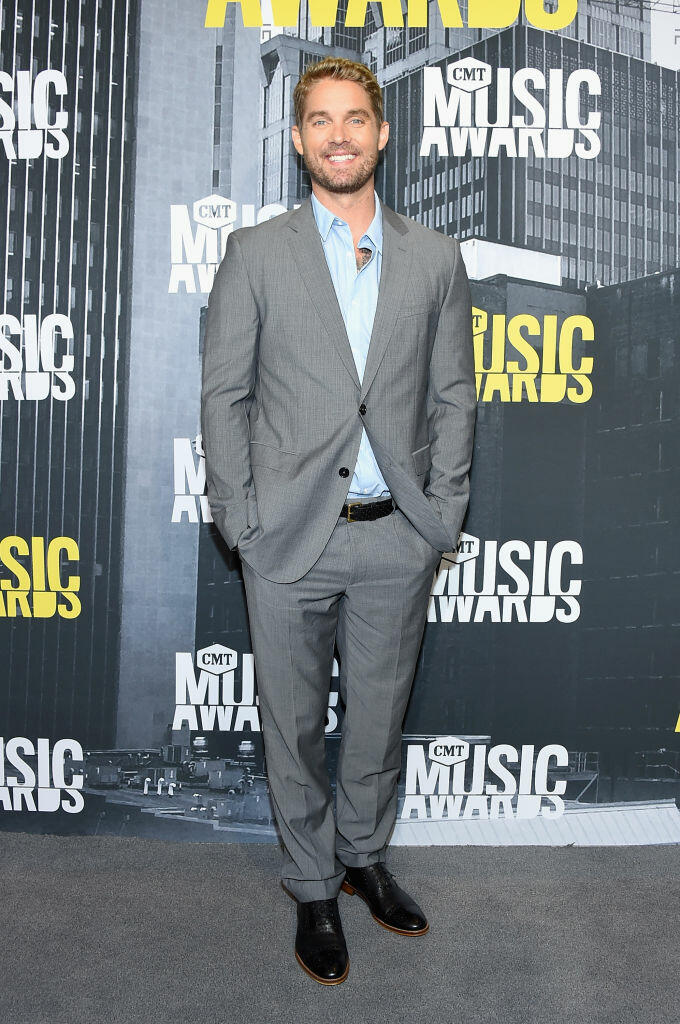 NASHVILLE, TN - JUNE 07:  Singer-songwriter Brett Young attends the 2017 CMT Music Awards at the Music City Center on June 7, 2017 in Nashville, Tennessee.  (Photo by Michael Loccisano/Getty Images For CMT)