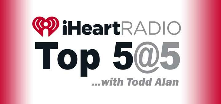 iHeartRadio Top 5 At 5 NEW 2017