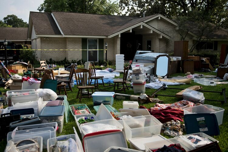 Hurricane Recovery in Houston Getty Images