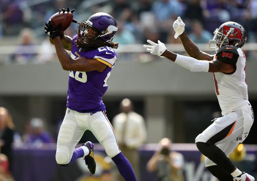 "Up"" the WATCH: get on ""Triple  Interceptions Vikings to"
