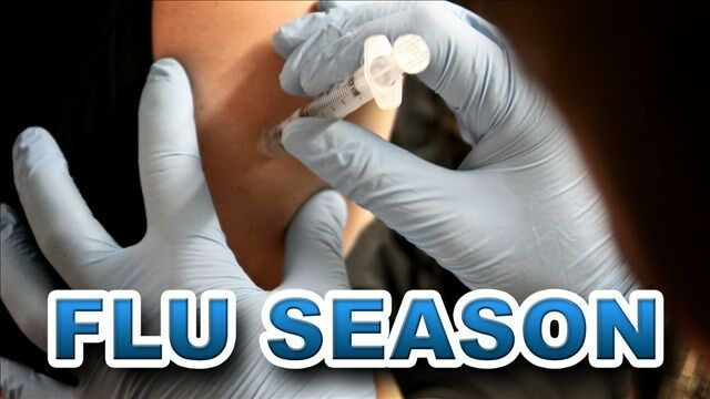 flu season - flu shot (stock image)