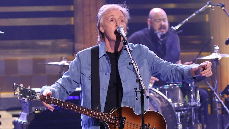 Paul McCartney earns first No