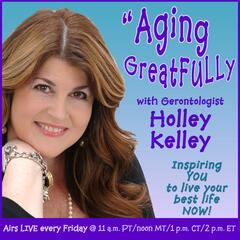 Listen to the Aging GreatFULLy with Holley Kelley Episode - Improving Humanity Through the Lessons of Wolves on iHeartRadio | iHeartRadio