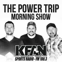 """Listen to the The Power Trip - KFAN FM 100.3 Episode - """"Kancho"""" - Power Trip [FULL SHOW] on iHeartRadio 