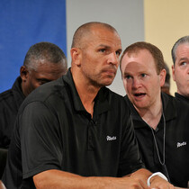 A 13-letter word? Yikes! Here's what Jason Kidd yelled at Lawrence Frank!