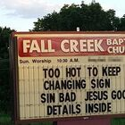 One of the Best Church Signs Ever