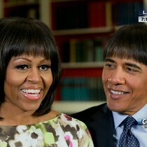 PHOTOS: Obama With Bangs