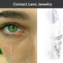 Contact lens jewelry, would you wear it??