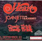 Heart, Joan Jett & The Blackhearts, & Cheap Trick