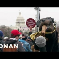 Triumph The Insult Comic Dog Attended Trump's Inauguration