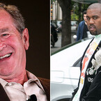 Dubya Has a Classic Response After Kanye West Uses Naked 'George W. Bush' in Music Vid