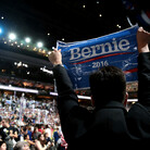 Sanders Supporters Clash With Clinton Backers Inside DNC