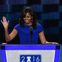 Michelle Obama Delivers Powerful Convention Speech