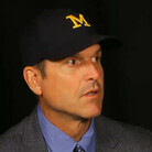 "Jim Harbaugh On Michael Jordan & ""Jumpman"" Logo"