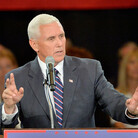 "Mike Pence Says Donald Trump Is A ""Natural Leader"" (LISTEN)"