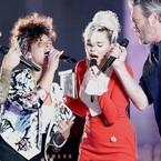 Miley Cyrus, Adam Levine, Blake Shelton & Alicia Keys Perform Explosive Cover Of Aerosmith's 'Dream On' (VIDEO)