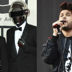 The Weeknd Hits The Studio With Daft Punk