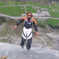 BASE-jumping legend Alexander Polli hit a tree in French Alps