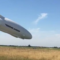 'Flying Bum' Crashes —Ever So Slowly (VIDEO)