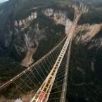 Terrifying Glass-Bottomed Bridge Sets 2 World Records