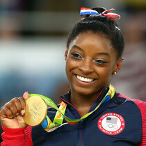 Simone Biles Gets Hero's Welcome as She Returns Home
