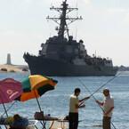 Iranian Boats 'Harass' US Warship