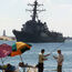 Iranian Boats 'Harass' US Warship