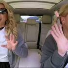 Britney Spears Brings Out The School Girl Outfit For James Corden's Carpool Karaoke (VIDEO)