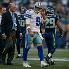 Tony Romo Leaves Cowboys Game With Back Inury