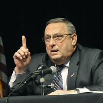 Maine Governor Leaves Obscene Tirade on Lawmaker's Voicemail