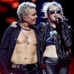 Miley Cyrus Lets Her 'Rebel Yell' During Billy Idol Duet At iHeartRadio Music Festival