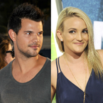iHeartRadio Music Festival: Presenter Taylor Lautner Says Britney Spears Tried To Set Him Up With Her Sister
