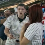 Yankee Fan Loses Ring While Proposing On Jumbotron (VIDEO)