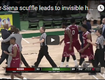 Coach Gives Invisible Handshakes
