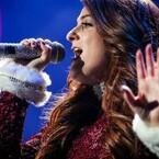 Meghan Trainor Gets Festive For 'Bass'-Filled Set At KIIS Jingle Ball