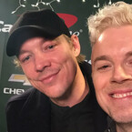 Diplo Wears Spectacles Backstage at KIIS Jingle Ball