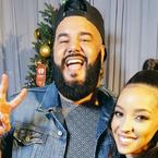 Tinashe on the Red Carpet at KIIS Jingle Ball
