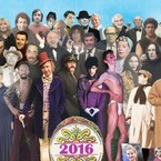 Artist Recreates Sgt. Pepper's Cover With Stars Who Died in 2016