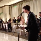 Shawn Mendes Sings Original Song At Friend's Wedding (VIDEO)