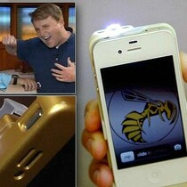 PROTECT YO'SELF.... THE IPHONE CASE THAT COMES WITH A STUN GUN!