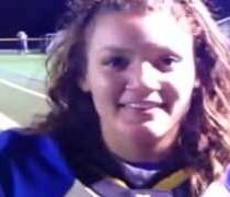 Girl Scores TD for Webster Schroeder, First in Section V History