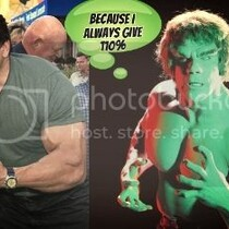 (PHOTOS) I dressed up like The Incredible Hulk and went out to eat here's why