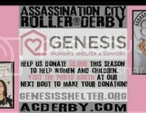 Roller Derby Action THIS weekend