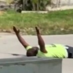 Miami shooting: Man shot by cops was lying down with hands up, lawyer says
